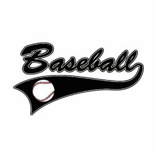 Baseball Logo Black Statuette