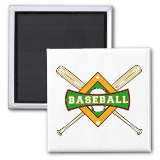 Baseball Logo Magnet