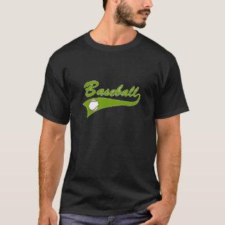 Baseball Logo Olive Green T-Shirt