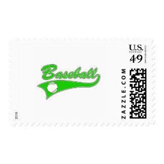 baseball logo postage