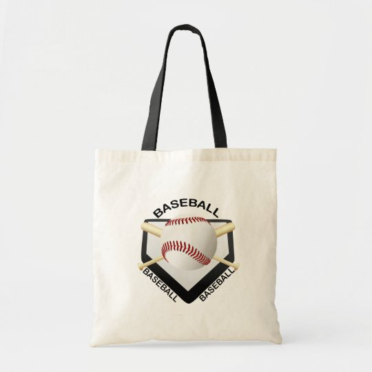 BASEBALL LOGO TOTE BAG