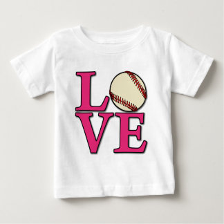 Baseball LOVE, melon Tshirt
