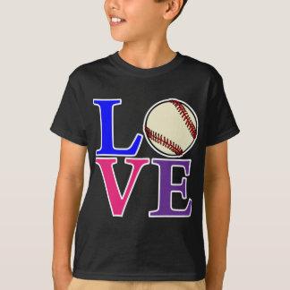 Baseball LOVE, multi2 T-Shirt