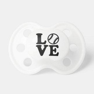 Baseball love pacifier