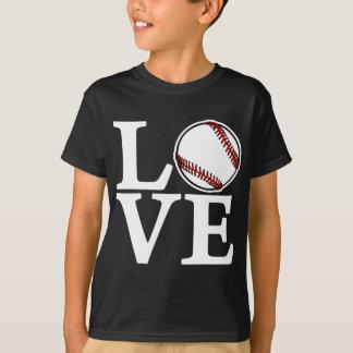 Baseball LOVE, white T-Shirt