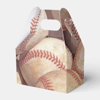 baseball lover favor box