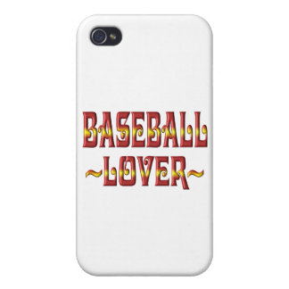 BASEBALL LOVER iPhone 4/4S COVERS