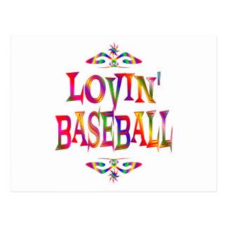 Baseball Lover Postcard
