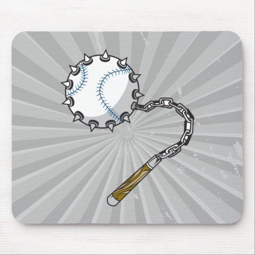 baseball mace mousepads