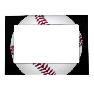 Baseball Magnetic Picture Frame
