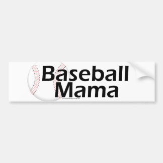 Baseball Mama Bumper Sticker