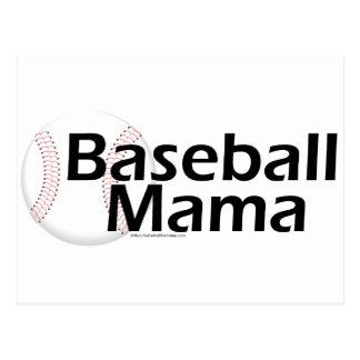 Baseball Mama Postcard