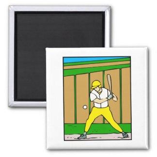 Baseball Man Magnet