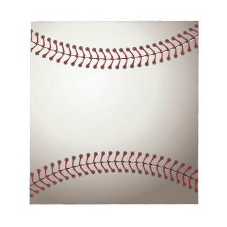 Baseball Memo Pads