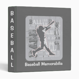 Baseball Memorabilia Binder