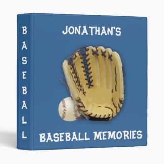 Baseball  Memories!-Personalize Binder