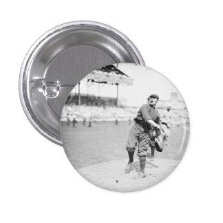 Baseball men button