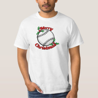 Baseball Merry Christmas T-Shirt