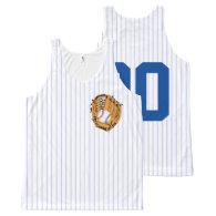 Baseball Mitt and Ball All-Over-Print Tank Top