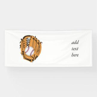 Baseball Mitt and Ball Banner