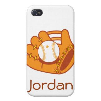 Baseball mitt iPhone 4/4S cover