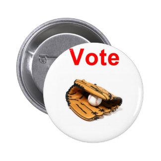 Baseball mitt romney 2012 pinback button