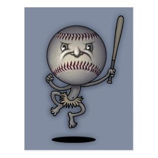 Baseball Mojo Juju Postcard