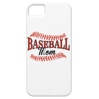 Baseball Mom 1 iPhone 5 Cases