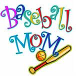 Baseball Mom Acrylic Cut Out