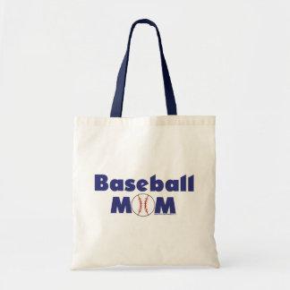 Baseball Mom Budget Tote Bag