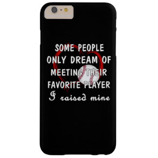 Baseball Mom Barely There iPhone 6 Plus Case