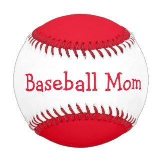 Baseball Mom Baseballs