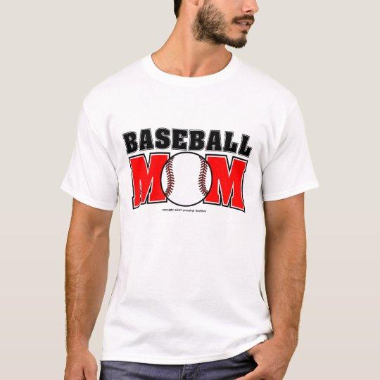 Baseball Mom Basic T-Shirt