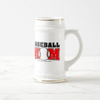 Baseball Mom Beer Stein