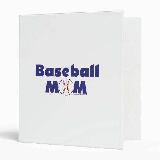 Baseball Mom Binder