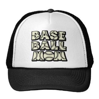 Baseball MOM, black Trucker Hat