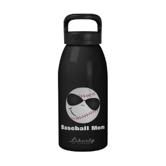BASEBALL MOM BPA FREE BOTTLE REUSABLE WATER BOTTLES