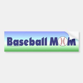 Baseball Mom Bumper Sticker