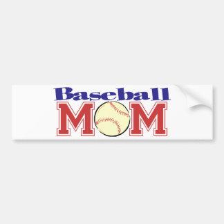 Baseball Mom Car Bumper Sticker