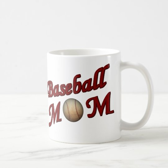 Baseball Mom Cute Coffee Mug
