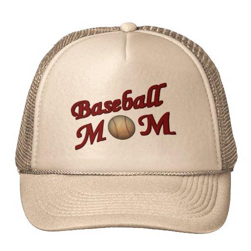 Baseball Mom Cute Hat