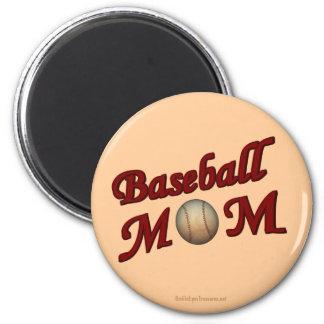 Baseball Mom Cute Magnet