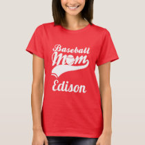 Baseball Mom Edison T-Shirt
