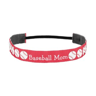 Baseball Mom Elastic Headbands