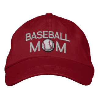 Baseball Mom Embroidered Baseball Cap