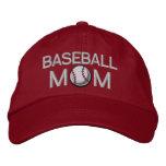 Baseball Mom Embroidered Baseball Hat