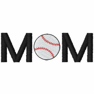 Baseball Mom Embroidered Shirt