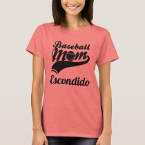 Baseball Mom Escondido T-Shirt