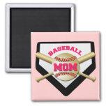 BASEBALL MOM FRIDGE MAGNETS