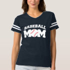 Baseball Mom Funny and Cute T-shirt